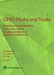 GMO myths and truths report cover