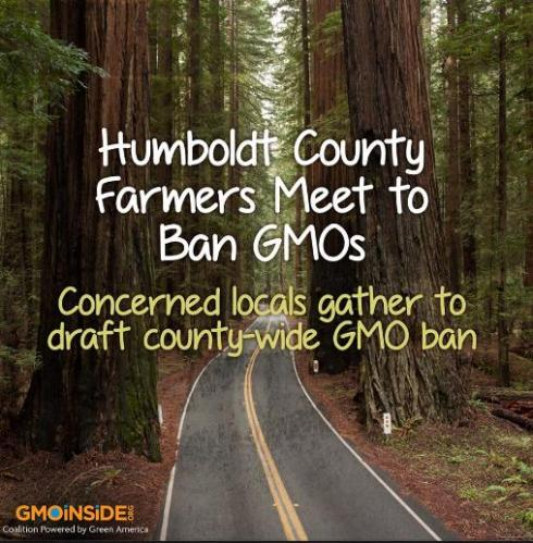 US farmers meet to ban GMOs in county