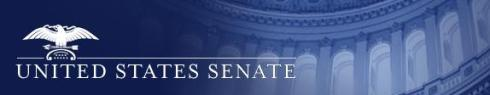 US senate header