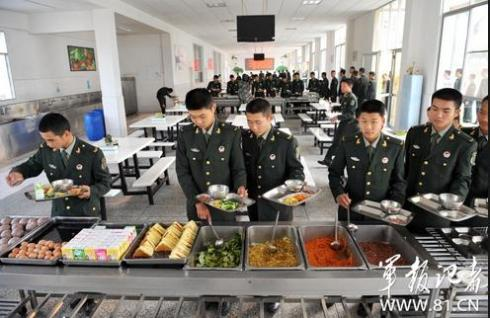 chinese army food