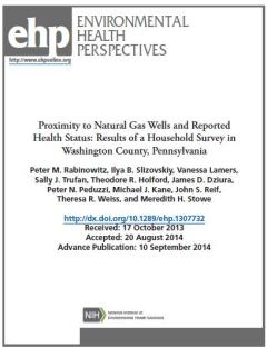 ehp fracking health cover