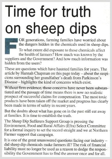 Northern Farmer 2editorial