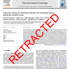 Food And Chemical Toxicology Chemical Concern